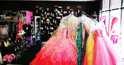 Ball Gowns and Prom Dresses at RissyRoos.com of Linwood, New Jersey