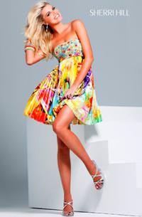 Vibrant Colors - Sherri Hill 9230
