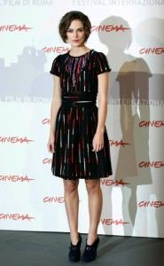 Keira Knightly at Rome International Film Festival