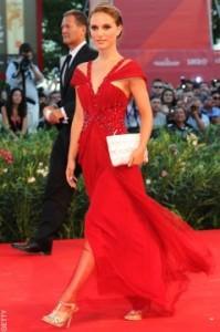 Natalie Portman Rodarte Dress Venice Film Vestival