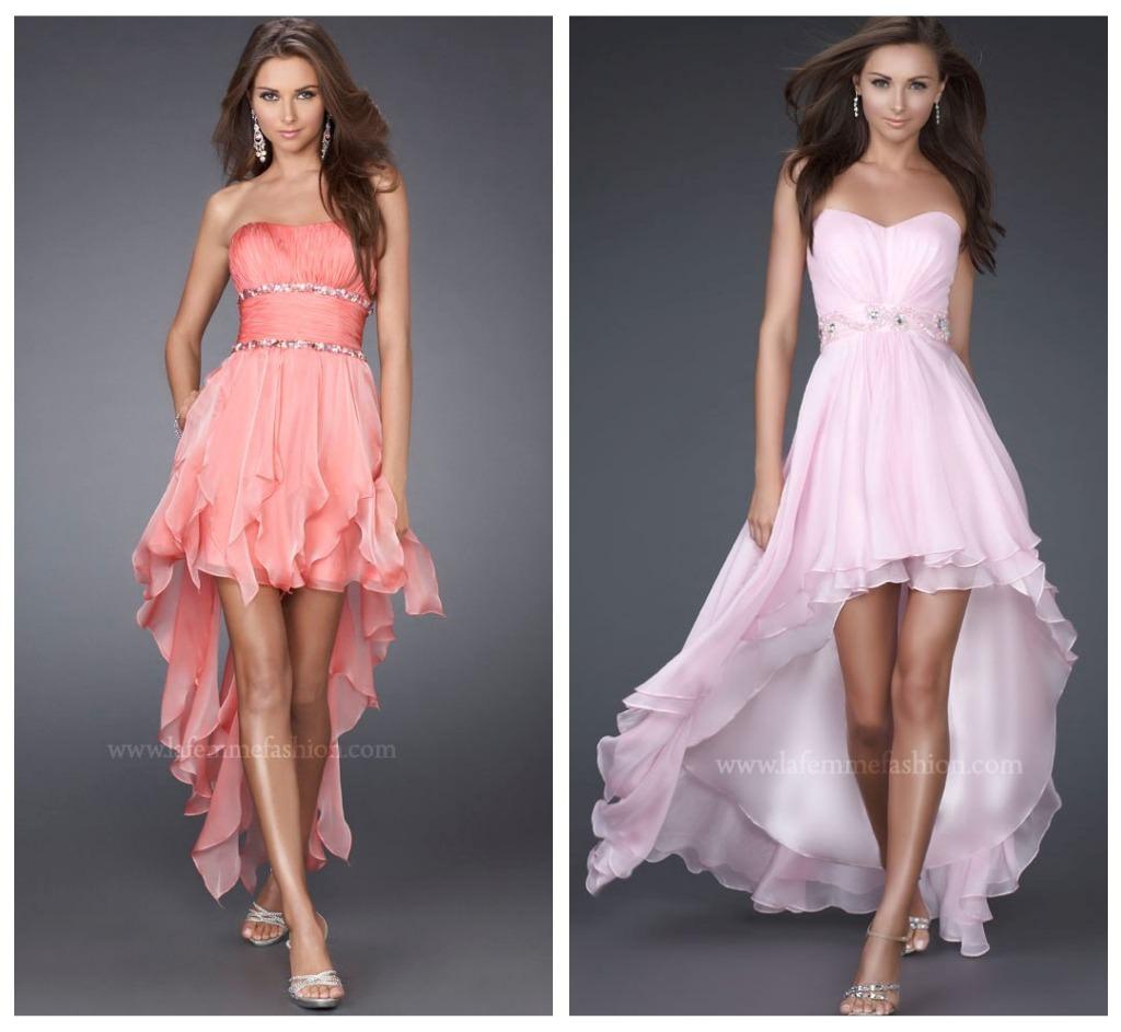 La Femme Hi-Lo Dress Trend