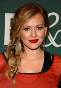 Hillary Duff hairstyle