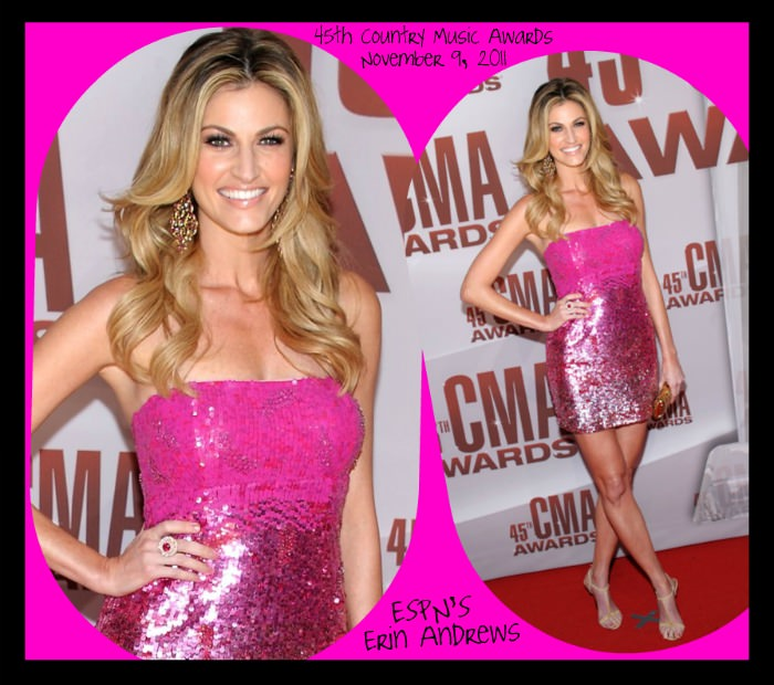 Sherri Hill 2771 - Country Music Awards - Erin Andrews