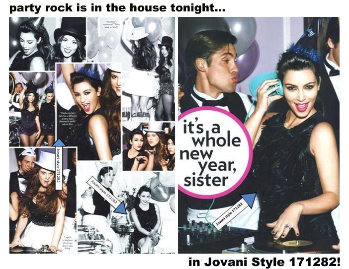 Glamour Magazine - January 2012 with the Kardashians