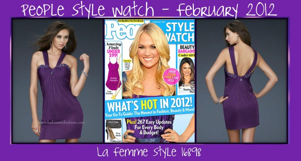 Carrie Underwood - People Style Watch - February 2012