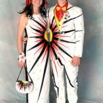 Weird Sunburst Prom Dress