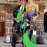 Bonnie and Clyde Themed Prom Dress