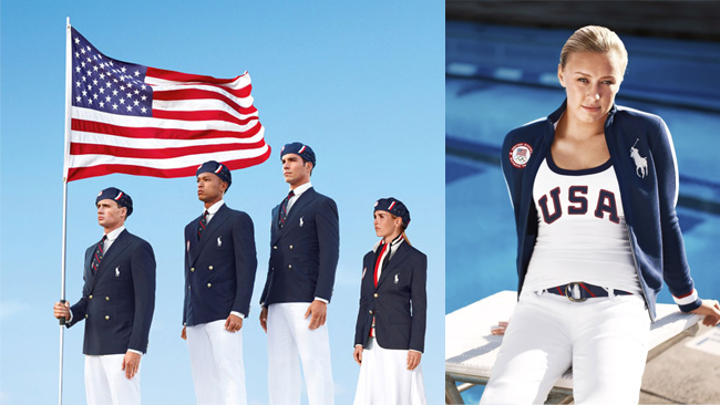 America US Olympic Uniforms 2012