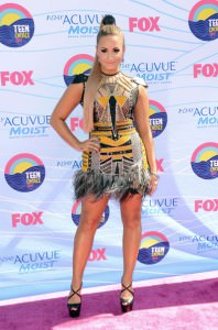 Demi Lovato Teen Choice Awards 2012