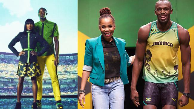 Jamaican Olympic Uniforms 2012