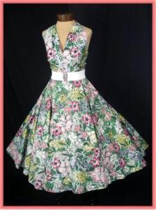 Floral Print Dress Classic