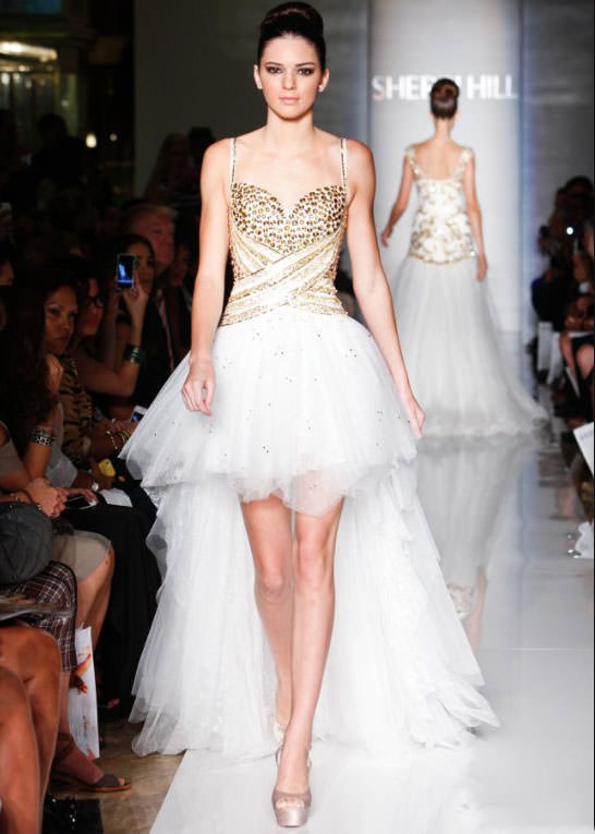 Dress of the Week: Sherri Hill 21168 with Kendall Jenner - Risssy ...