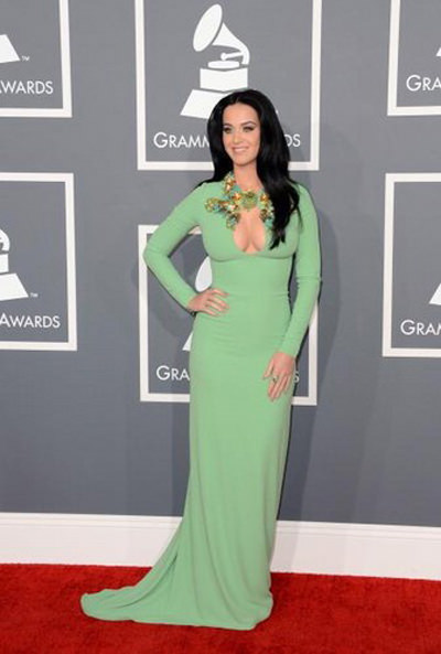 Katy Perry at the 2013 Grammy's