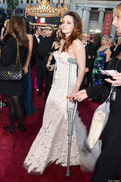 Kristen Stewart at Oscars 2013