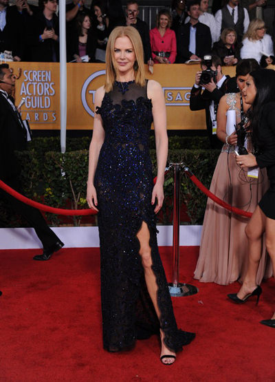 Nicole Kidman at the 2013 SAG Awards