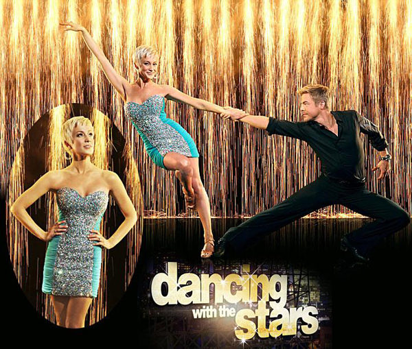 Kellie Pickler and Derek Hough in Dancing With The Stars Season 16