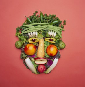 Vegetables Face