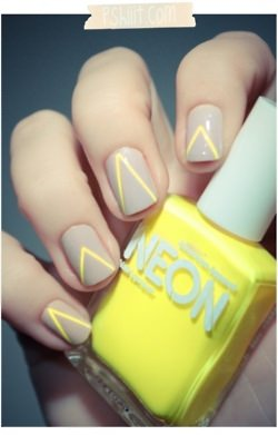 nude and neon