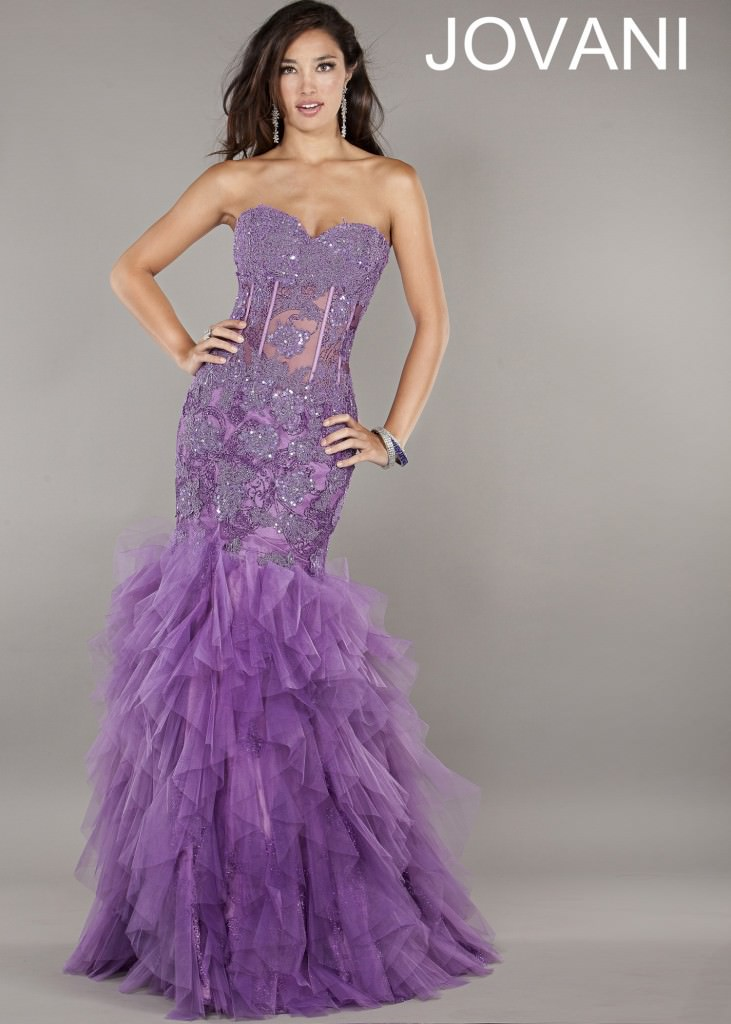 Jovani 1267 purple