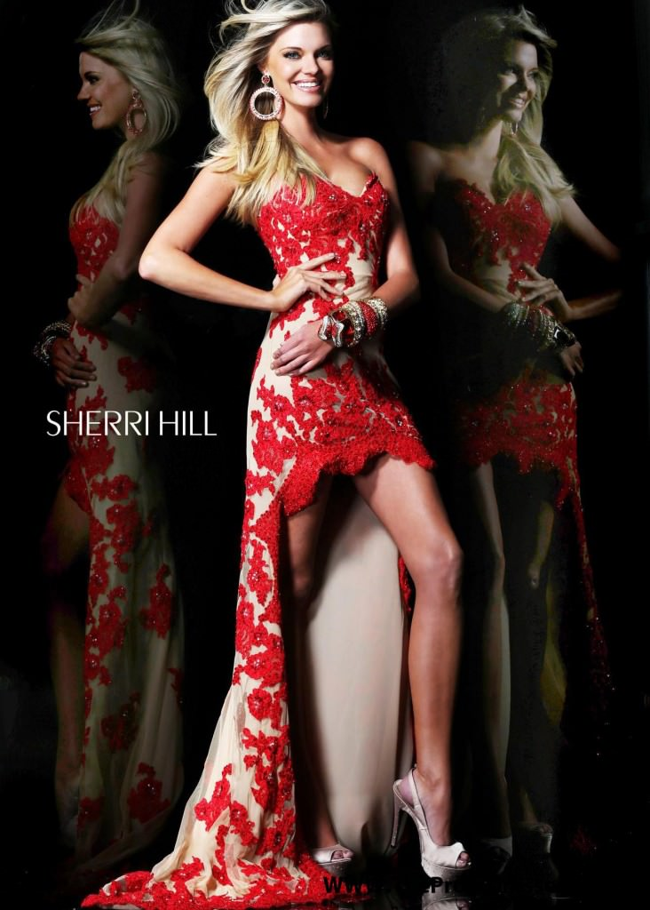 Sherri Hill 21016 Red
