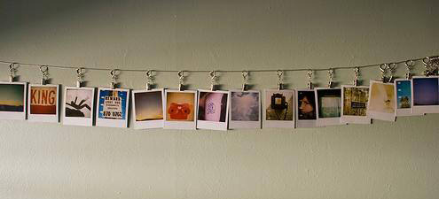 polaroid display