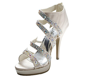 Sizzle by Coloriffics Natasha prom shoes