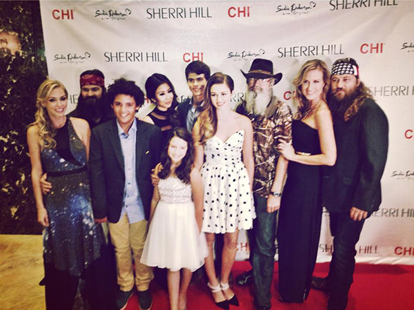 Duck Dynasty Sherri Hill NYFW Red Carpet