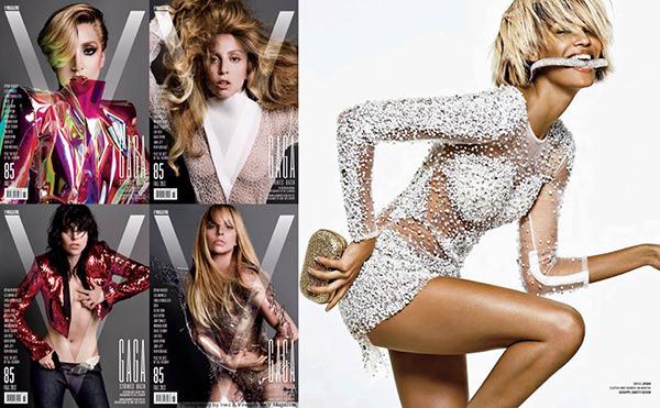 Jovani 88475 in the Lady Gaga issue of V Magazine