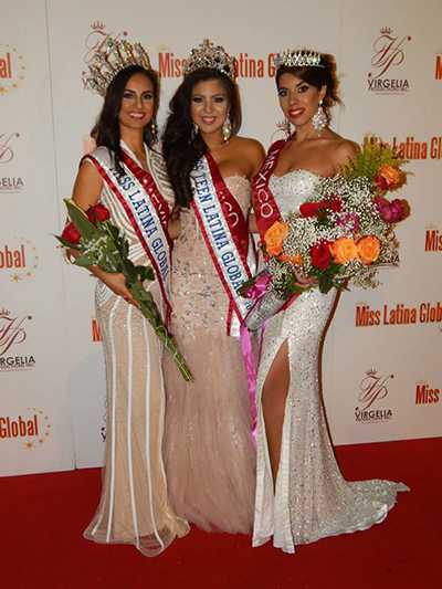 3ff00195054 Shail K.   Jovani dresses at the Miss Latina Global 2013 Pageant ...