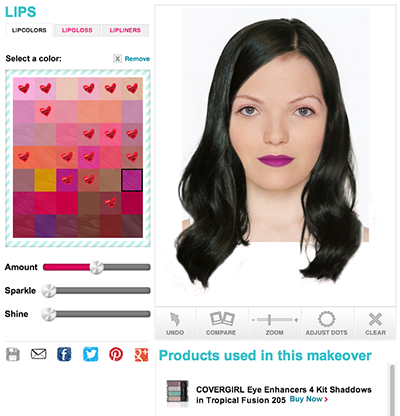 Virtual Makeover Lips