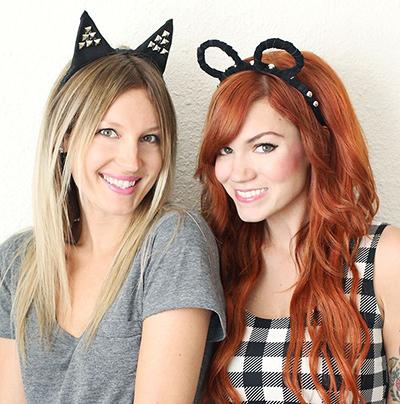 DIY Halloween animal ears