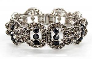 Helen's Heart silver bracelet jb-pd00339-blk (2)