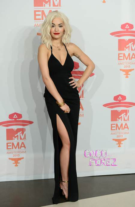Rita Ora at the 2013 EMAs