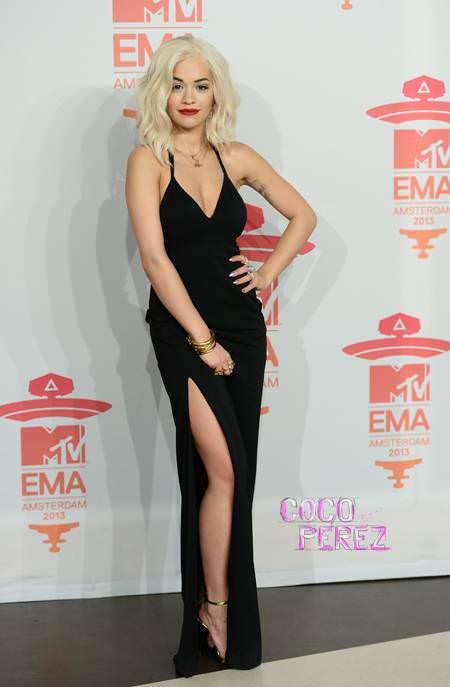Rita Ora at the 2013 EMAs