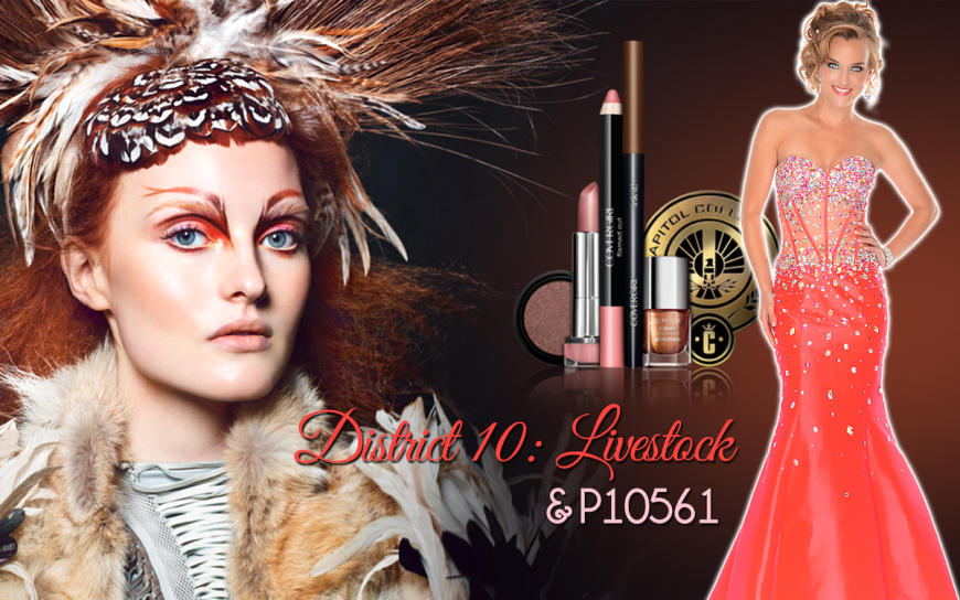 CoverGirl Hunger Games District 10 makeup