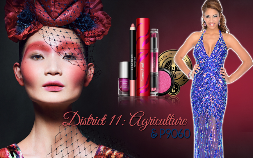 CoverGirl Hunger Games District 11 makeup