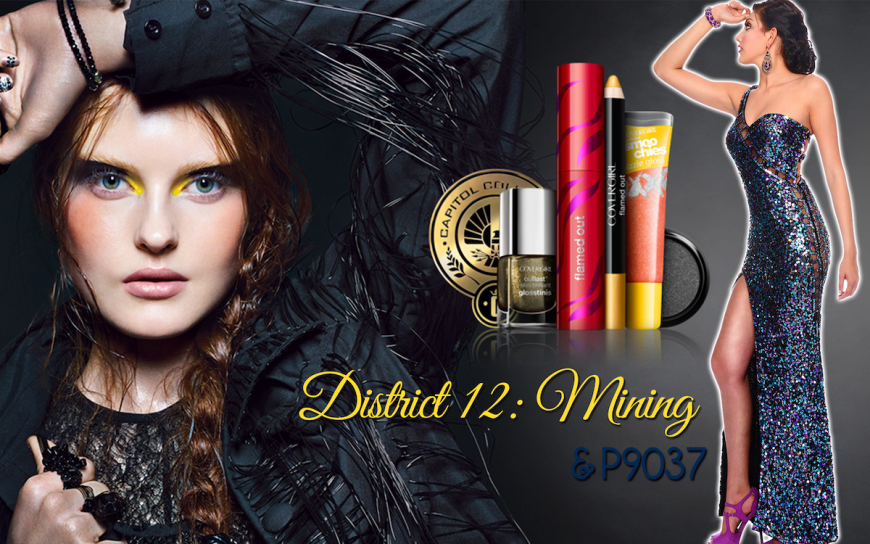 CoverGirl Hunger Games District 12 makeup