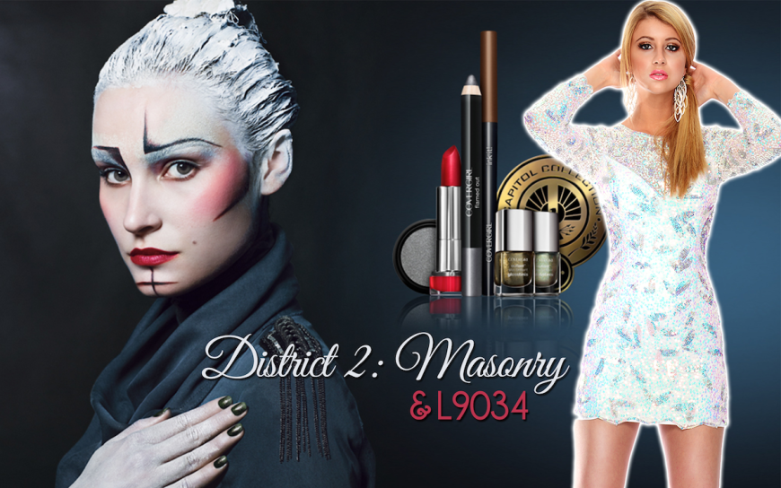 CoverGirl Hunger Games District 2 makeup