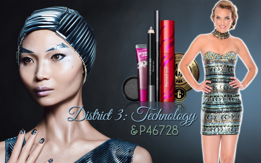 CoverGirl Hunger Games District 3 Makeup