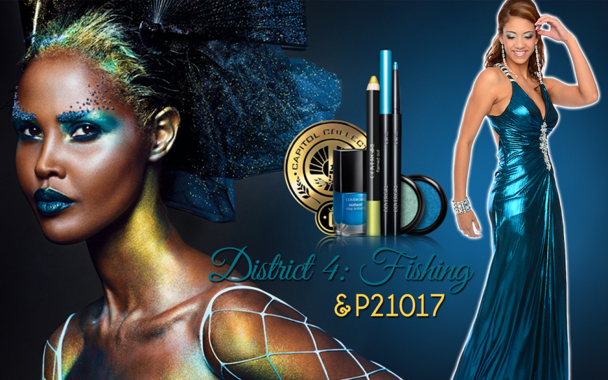 CoverGirl Hunger Games District 4 makeup