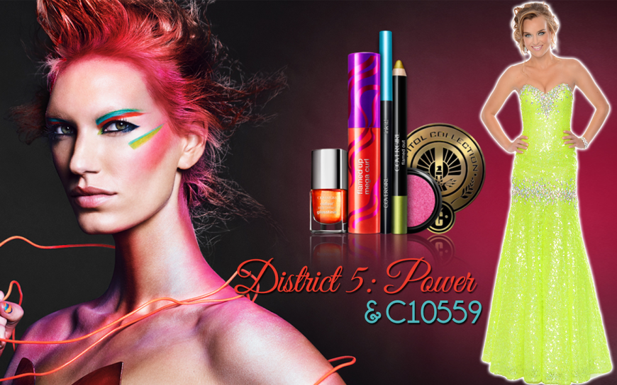 CoverGirl Hunger games District 5 makeup