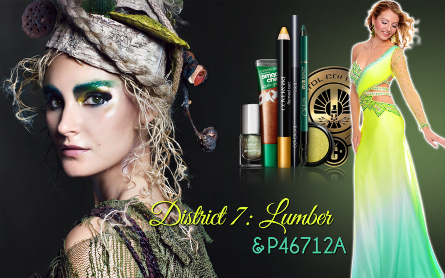 CoverGirl Hunger Games District 7 makeup