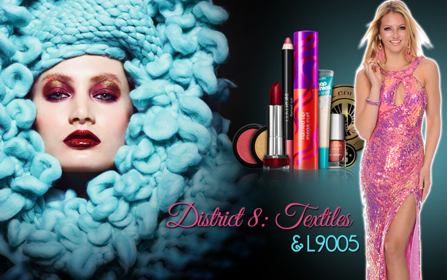 Hunger Games District 8 CoverGirl makeup