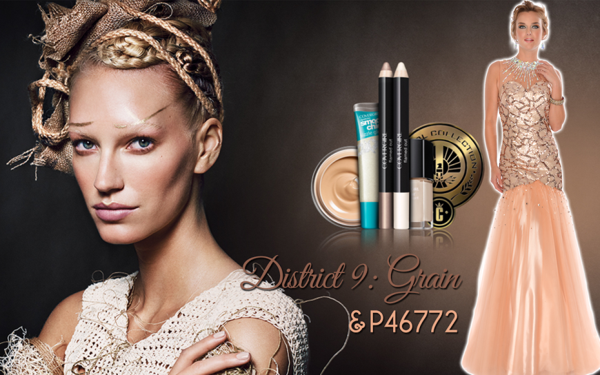 CoverGirl Hunger Games District 9 makeup
