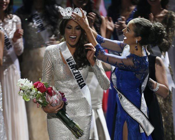 miss universe winner miss venezuela Gabriela Isler