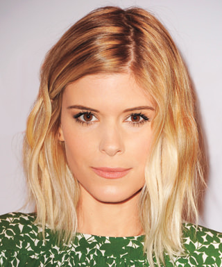 Sienna Miller wears long bob lob hairstyle