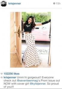 Kris Jenner instagram