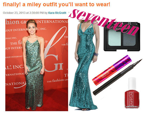 Miley Cyrus Faviana 6711