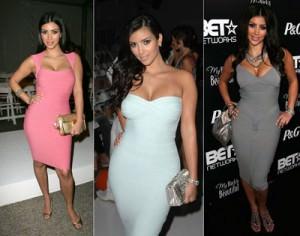 kim kardashian cocktail dresses