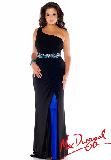 Four Elements of Flattering Plus Size Prom Dresses | - Rissy ...